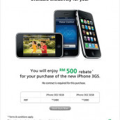 Maxis iPhone 3GS Special Privilege