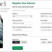 IP5HQ: Maxis iPhone 5 Register Of Interest