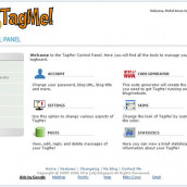 TagMe!: Control Panel sneak preview