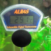 Aquarium water temperature experiment